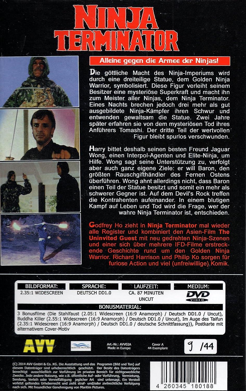 Ninja Terminator - Limited 44 Edition -  Amazon.co.uk  Godfrey Ho  DVD    Blu-ray c14bf4dae4880