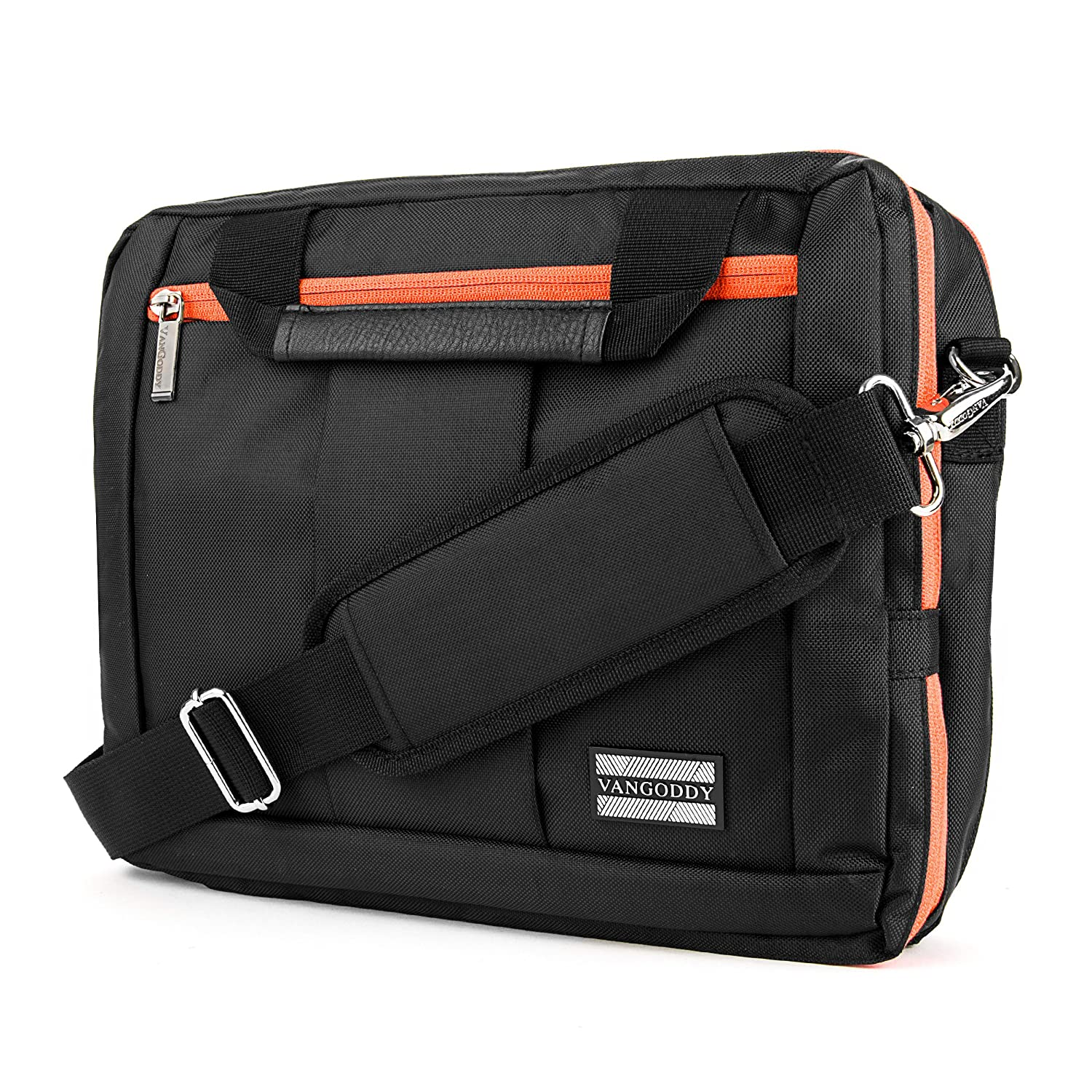 El Prado Collection 3 in 1 Backpack and Messenger Bag for Microsoft Surface Pro 4 12 Tablet Surface Pro 3 12 Tablet Orange