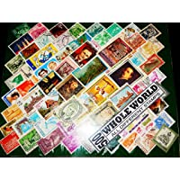 GOLD MINT 500 All Different Whole World Vintage Stamps Old Rare Display (Multicolour)