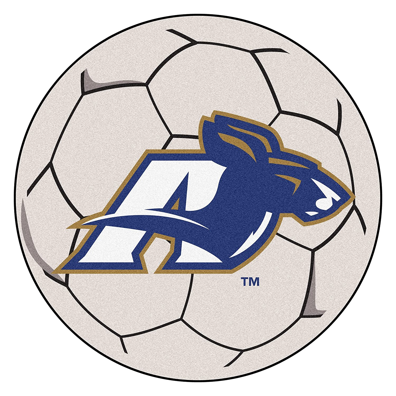 Universidad de Akron de balón de fútbol alfombra: Amazon.es: Hogar