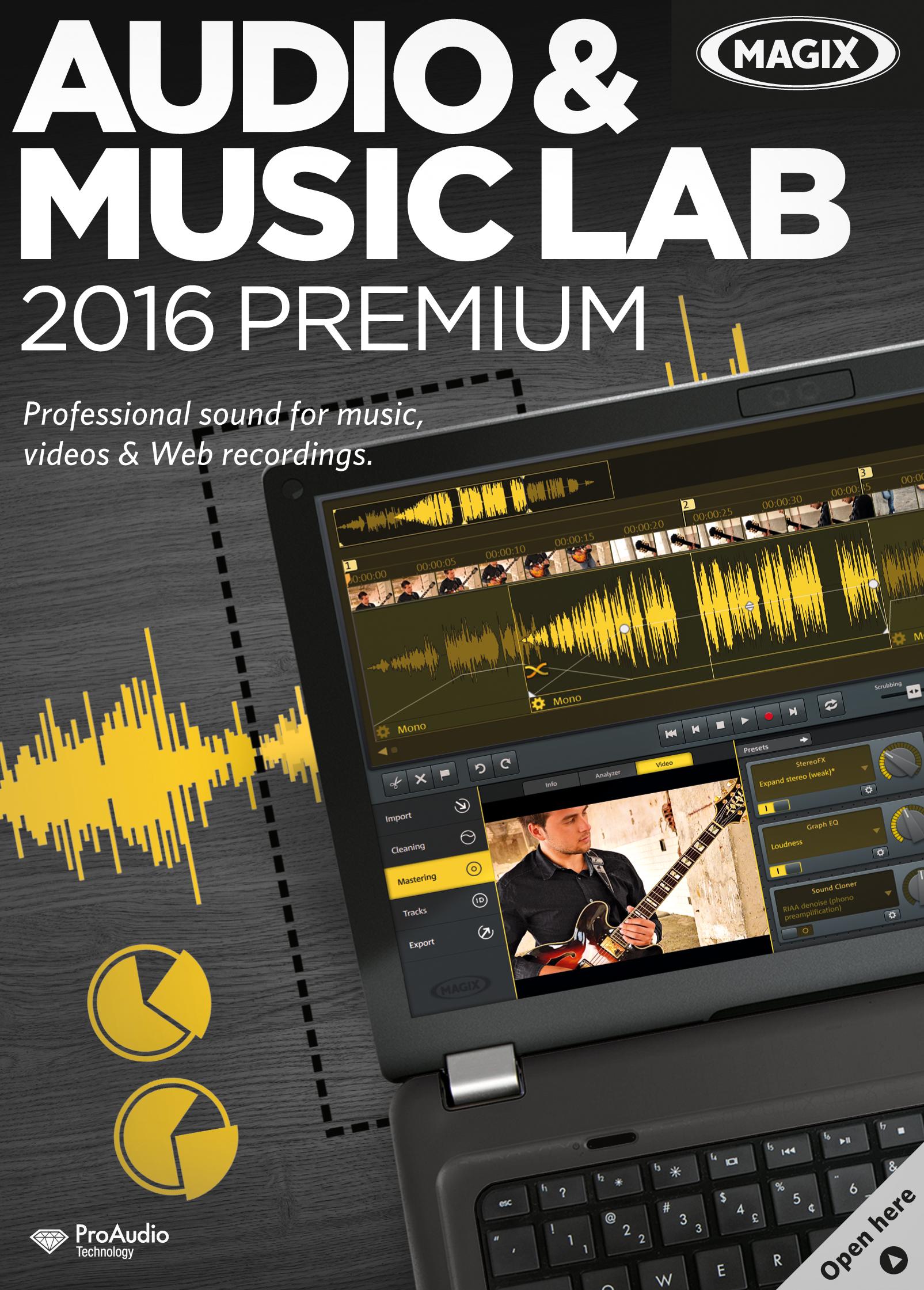 MAGIX Audio & Music Lab 2016 Premium [Download]