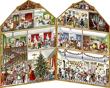 coppenrath unique traditional advent christmas calendar beautiful foldout premium made in germany christmas