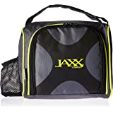 Fit & Fresh Jaxx FitPak Meal Prep Bag and Container Set with 6 Leakproof Portion Control Containers, Ice Pack and 28-ounce Jaxx Shaker Cup, Neon