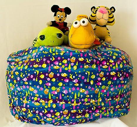 Amazon.com: MSB - Puf de almacenamiento para niños, con ...