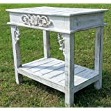 Vintage style hand made coffee,occasional white wash table.Shabby chic ...