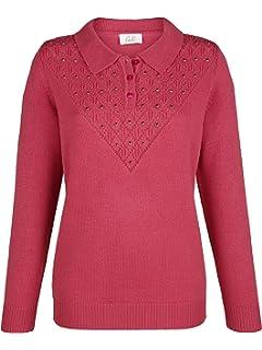 63d7cc718b7b Paola Damen 2in1 Pullover mit Bluseneinsatz  Amazon.de  Bekleidung