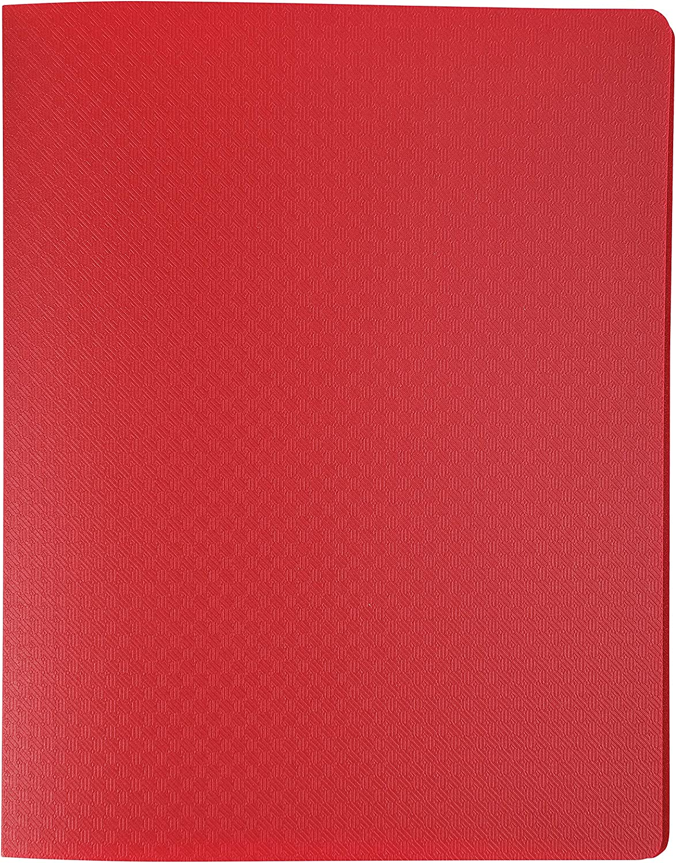 Exacompta 85412E Portadocumentos polipropileno, semirr/ígida, 80 p/áginas, A4