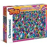 Clementoni 39369.5 - Puzzle Impossible - Les Trolls - 1000 Pièces
