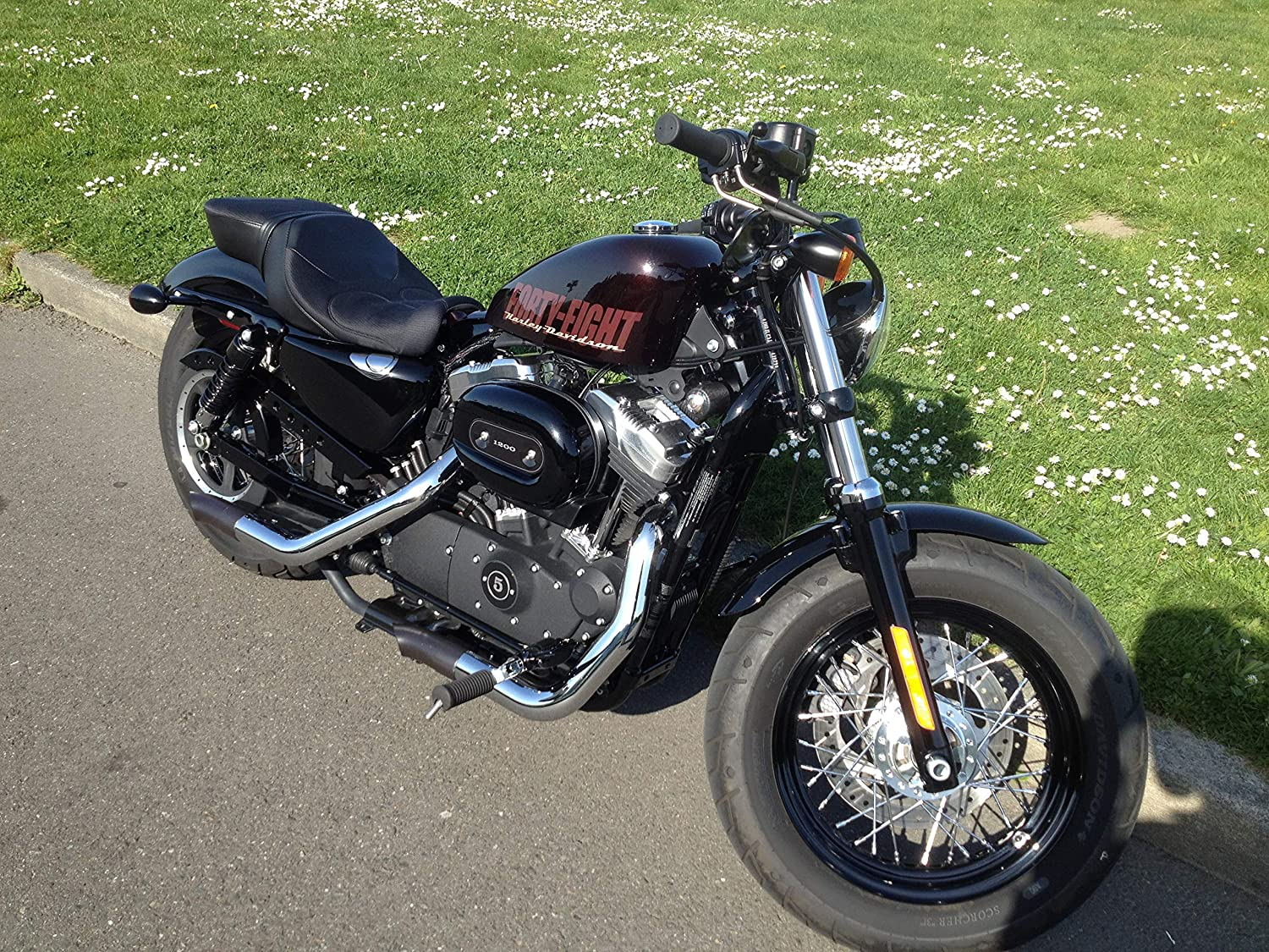 Radiant Cycles Stealth GP Exhaust GP series for 2014-2020 HARLEY DAVIDSON Iron Sportster 883 CHROME SLIP-ON