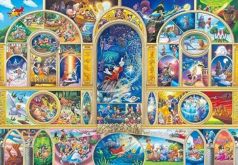 Amazon.com  Tenyo Disney All Character Dream Jigsaw Puzzle (1000 ... 707fd5697