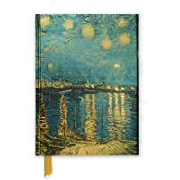 Van Gogh: Starry Night over the Rhone (Foiled Journal) (Flame Tree Notebooks)