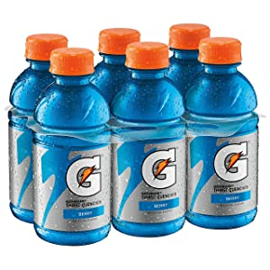 Gatorade Thirst Quencher, Berry-All Star, 12 Ounce (Pack of 6)