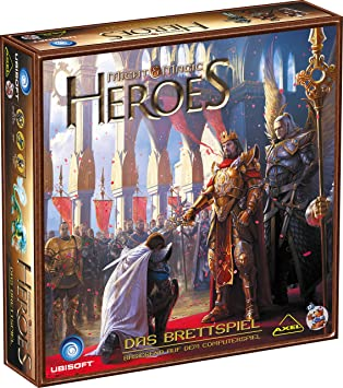 Heidelberger HE729 - Might and Magic Heroes - Juego de Mesa: Amazon.es: Juguetes y juegos