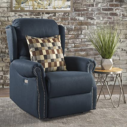 Beau Desiree Power Motion Recliner | Motorized Armchair Ideal For Living Room,  Bedroom Or Home Theatre