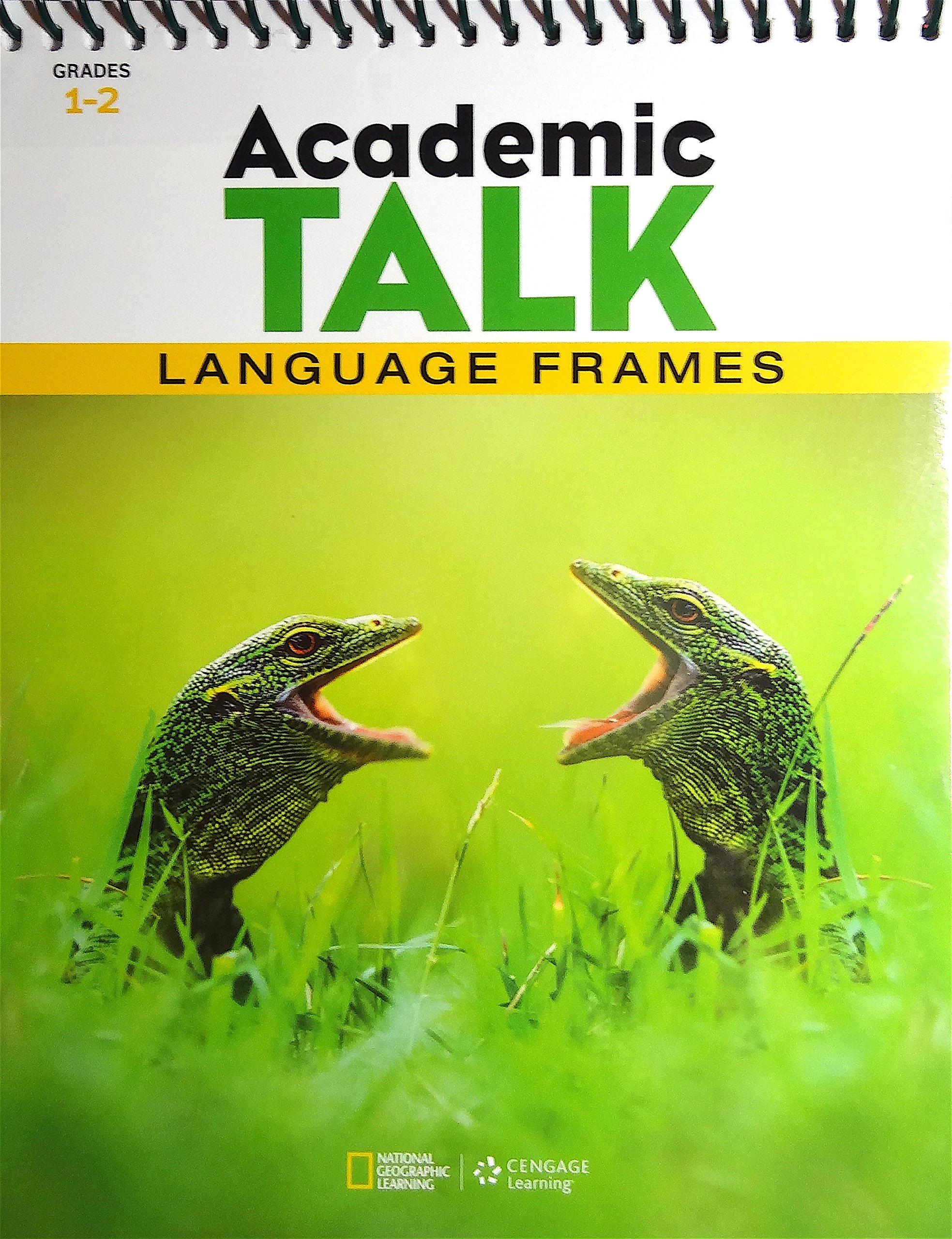 Download National Geographic Learning, Academic TALK, Language Frames, Grades 1-2 Flipchart PDF