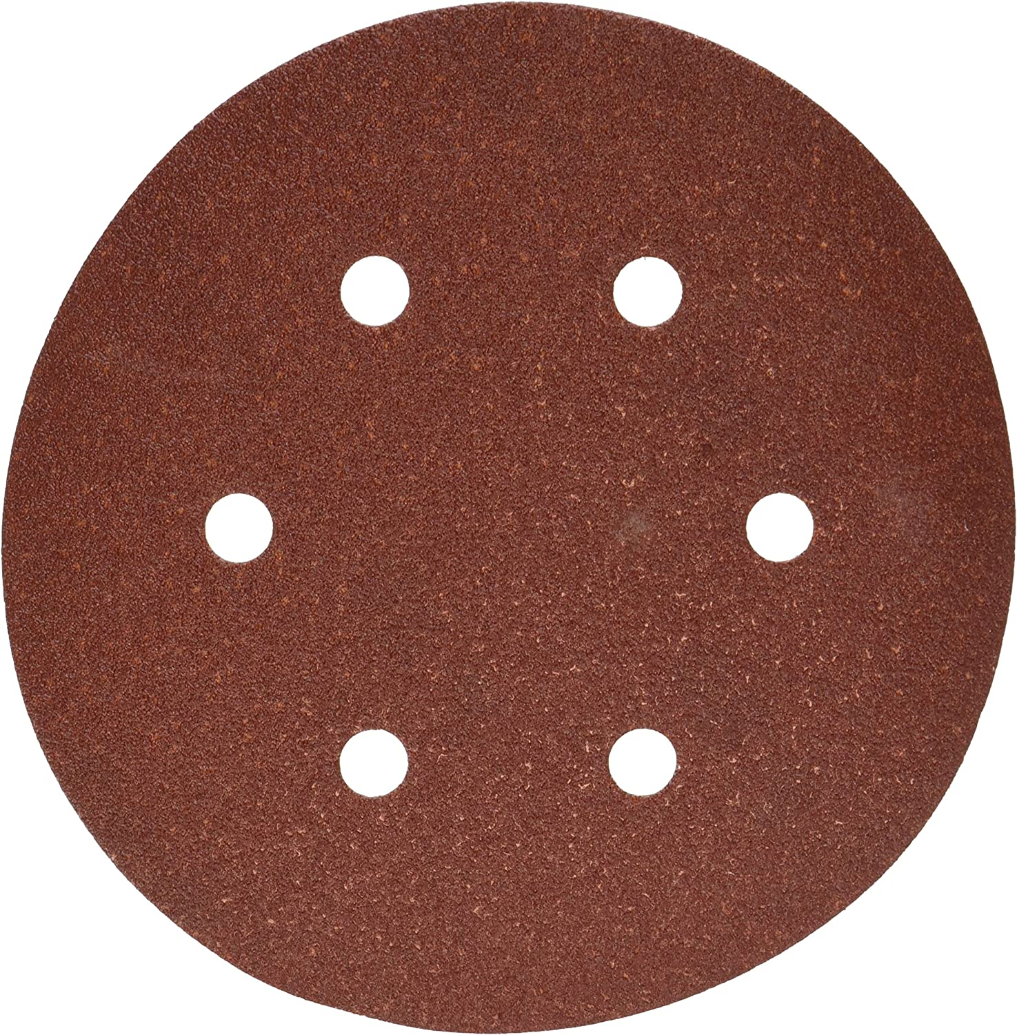 PORTER-CABLE 736600825 6-Inch 6-Hole Hook and Loop 80 Grit Sanding Discs 25-Pack