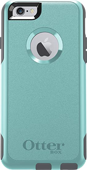 san francisco 377b3 45f60 OtterBox COMMUTER SERIES iPhone 6/6s Case - Frustration Free Packaging -  SKY SHADOW (AQUA BLUE/GUNMETAL GREY)