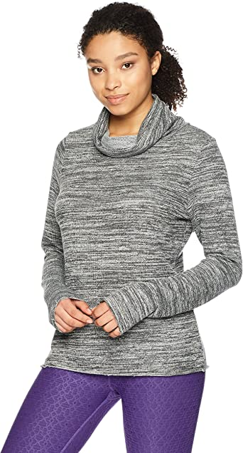 Maaji Womens Inspirit Solid Long Sleeve Top with Funnel Neck