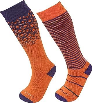 Lorpen Ski Socks-2 Pack T2 Kids Merino - Calcetines de esquí (2 Unidades), Juventud Unisex: Amazon.es: Deportes y aire libre
