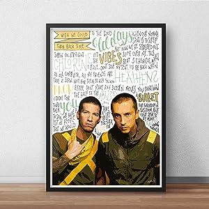 Twenty One Pilots INSPIRED Poster/Print