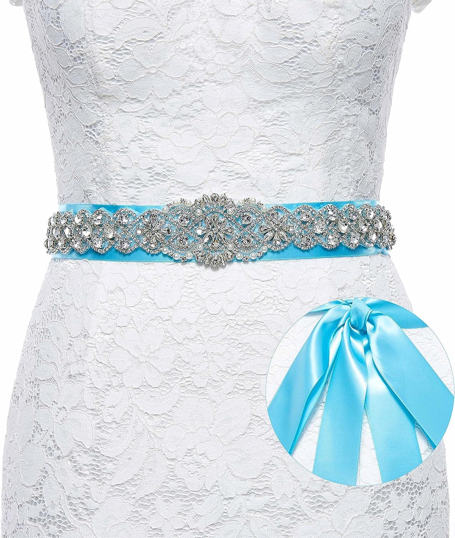 Sisjuly Rhinestones Bridal...