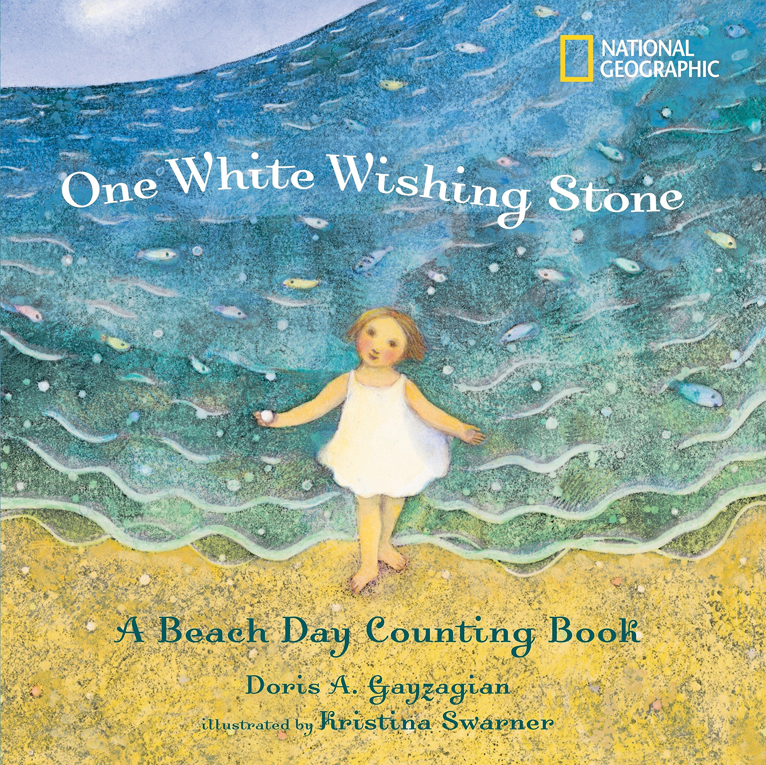 One White Wishing Stone: A Beach Day Counting Book pdf