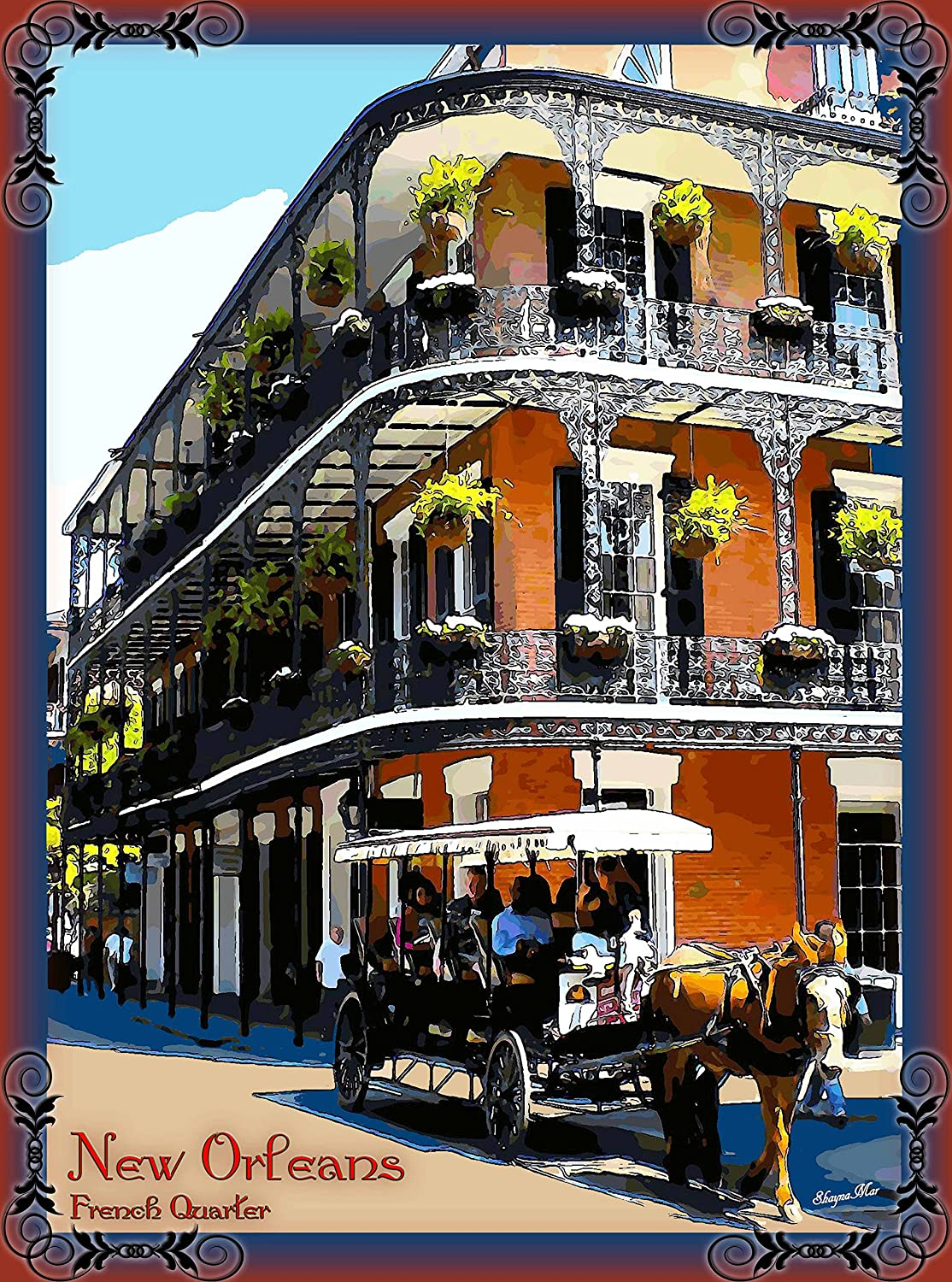 Amazon Com A Slice In Time French Quarter New Orleans Louisiana United States Of America Travel Advertisement Art Poster Print Poster Measures 10 X 13 5 Inches Posters Prints Central standard time (north america)cst. a slice in time french quarter new orleans louisiana united states of america travel advertisement art poster print poster measures 10 x 13 5 inches