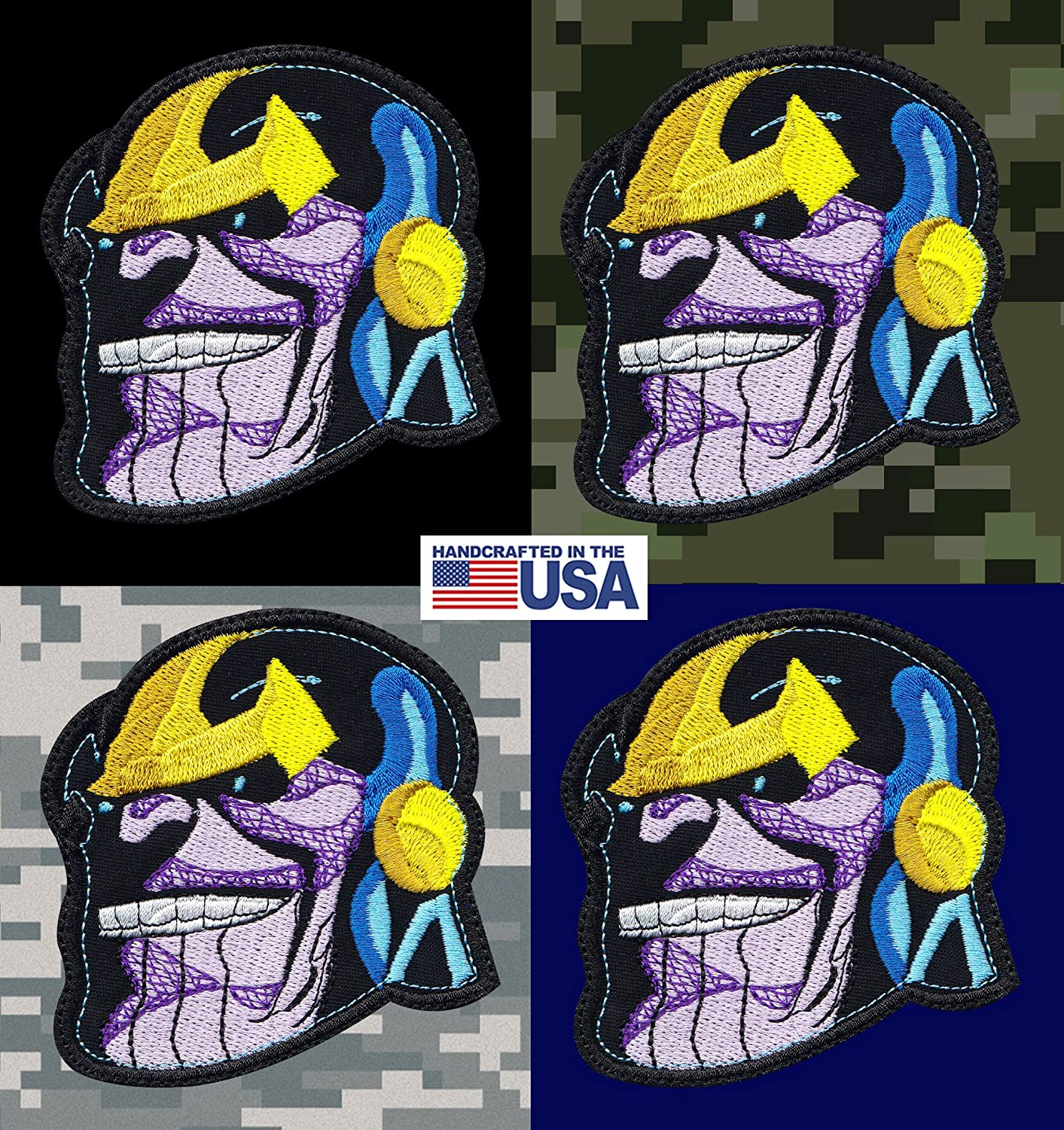 Thanos Head Avengers Infinity Inspired Art Patch