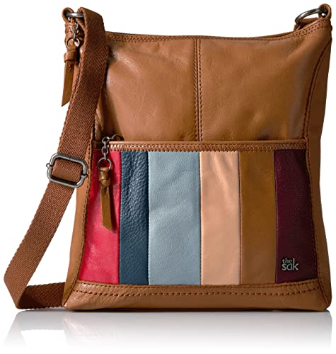 96dbbaea5ac9d1 The Sak Iris Crossbody, Tobacco Multi Stripe: Amazon.in: Shoes & Handbags