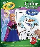 Crayola - 04-5842 - Kit De Loisirs Créatifs - Album Coloriage Et Autocollants - La Reine Des Neiges Disney
