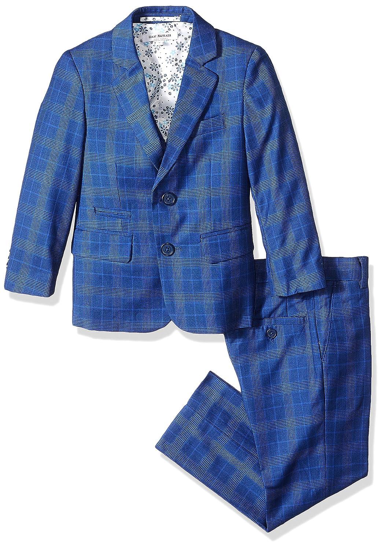 Isaac Mizrahi Boys 3-Piece Glen Plaid Suit