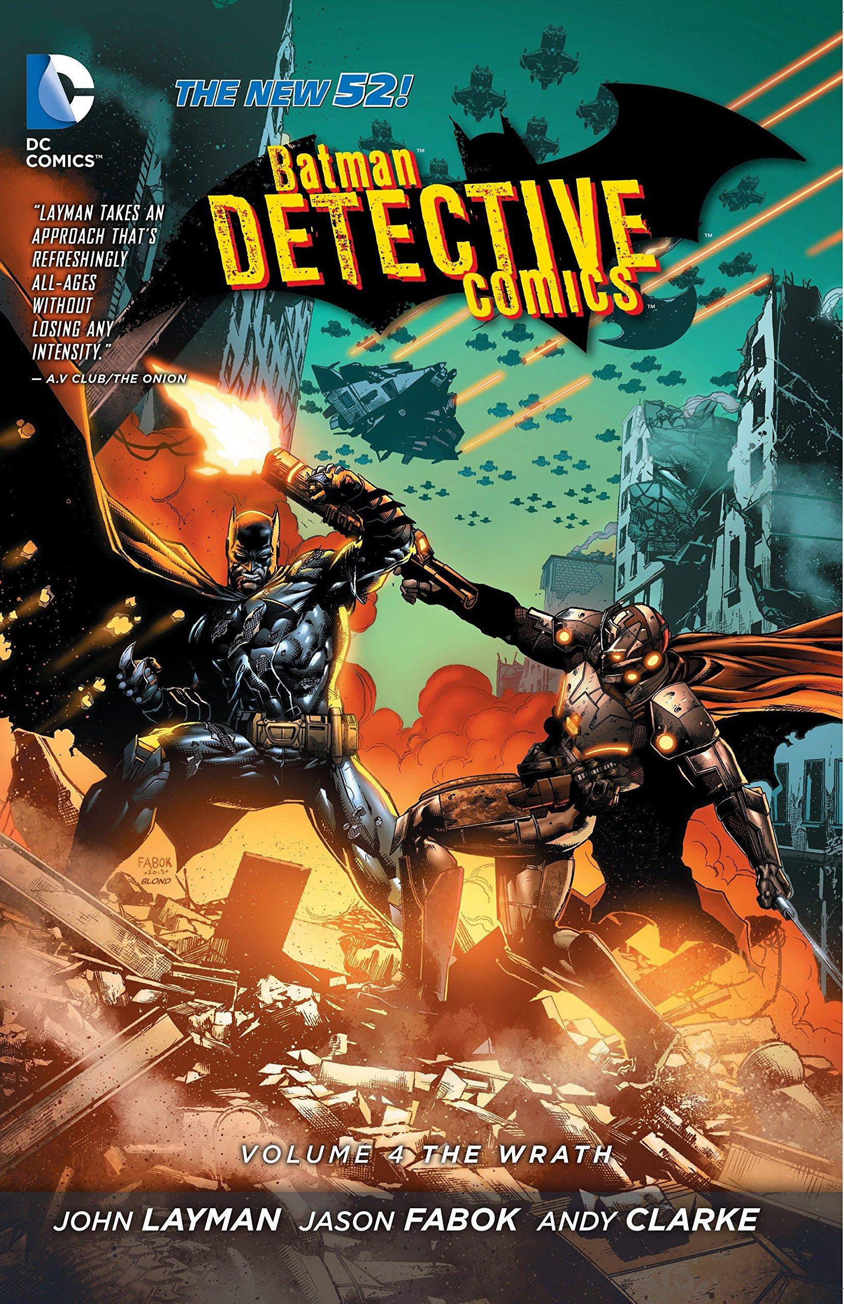 Batman: Detective Comics Vol. 4: The Wrath (The New 52) PDF