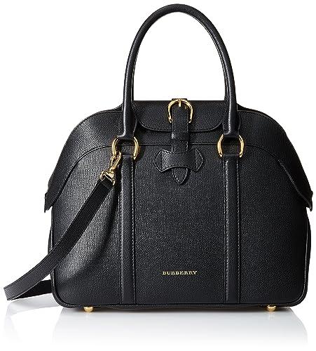0588684e6cf1 Burberry Women s Medium Leather Bowling Bag