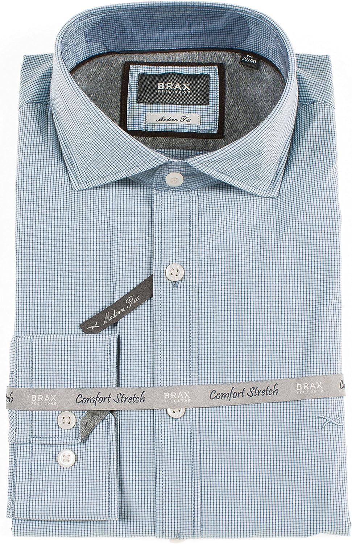 Camisa para hombre brax Business Camisa superior Harold azul ...