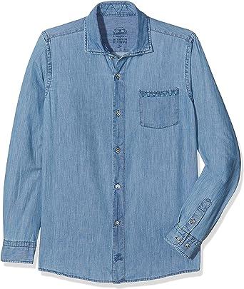 Scalpers Original Denim Camisa, Azul (Azul), 10 años (Tamaño ...