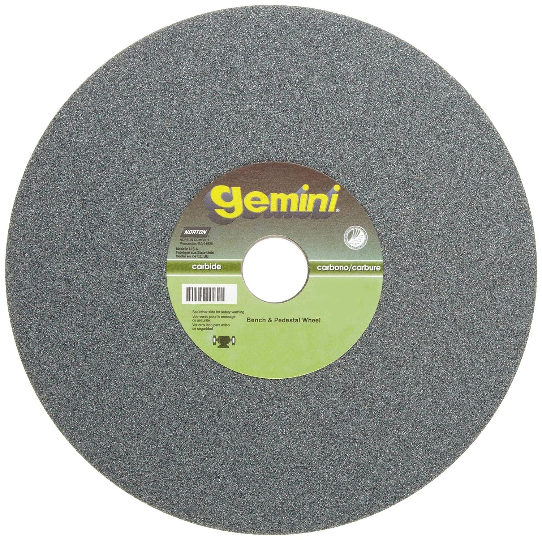 "NEW Norton Gemini 120 grit Silicon Carbide Grinding Wheel 6/"" x 3//4/"" x 1/"" 1"
