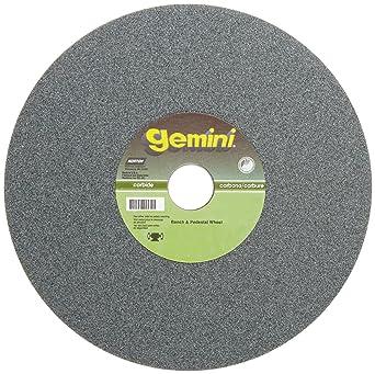 "Norton Gemini Bench//Pedestal Grinding Wheel 10/"" x 1/"" x 1-1//4/"" Medium Oxide"