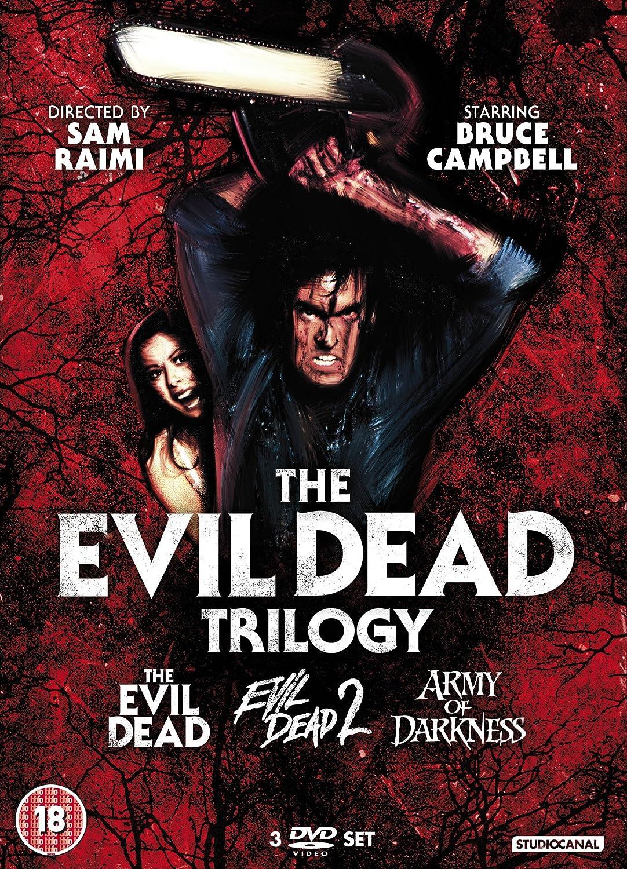 Evil Dead Trilogy (3 Dvd) [Edizione: Regno Unito] [Italia]