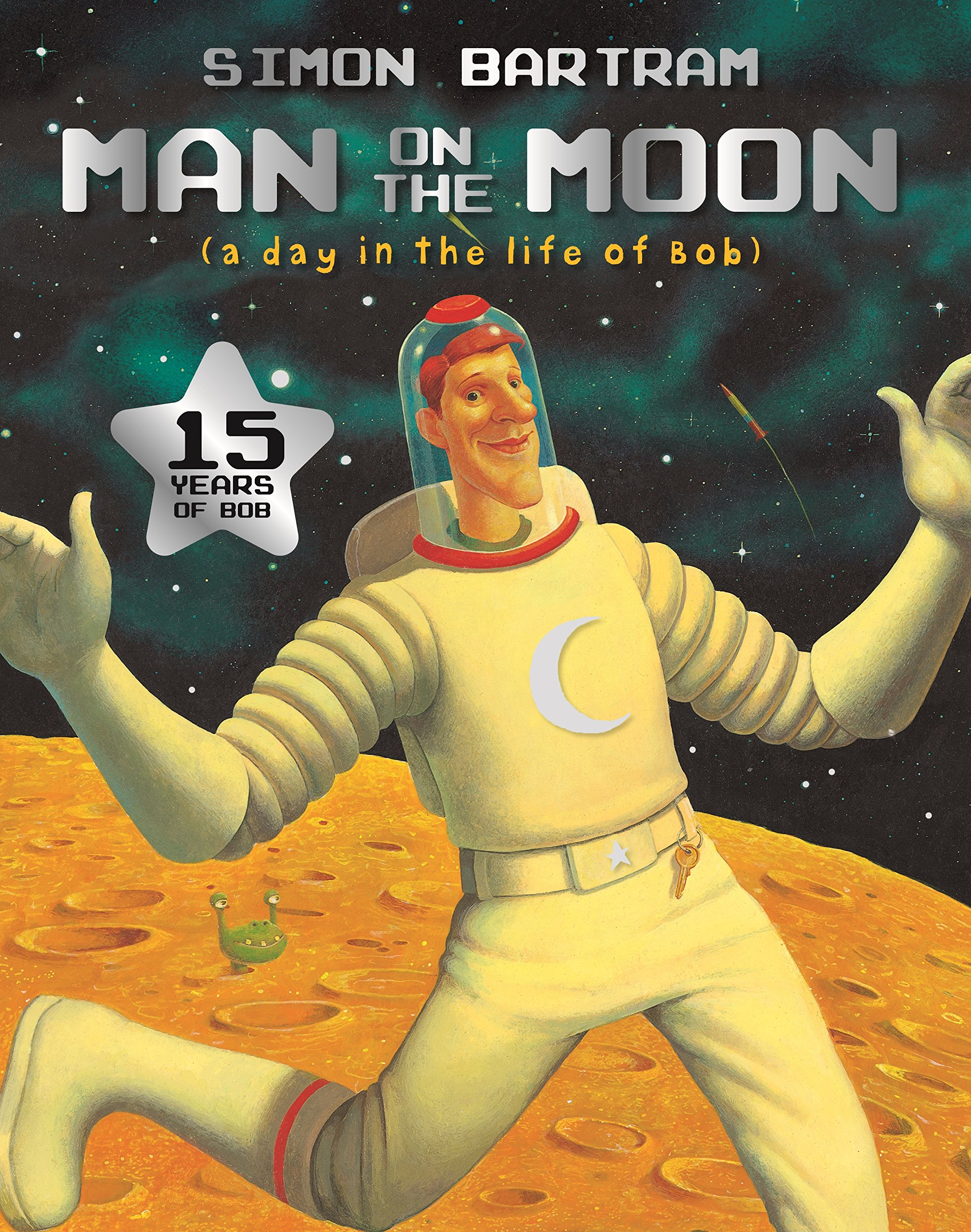 Image result for man on the moon book
