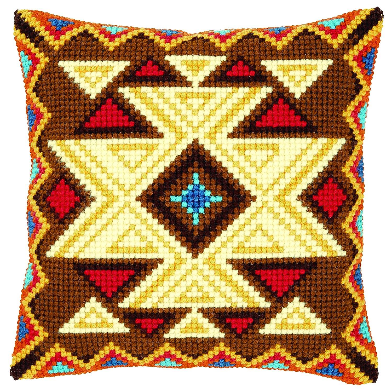 Vervaco Geometric Design Cushion Cross Stitch Kit