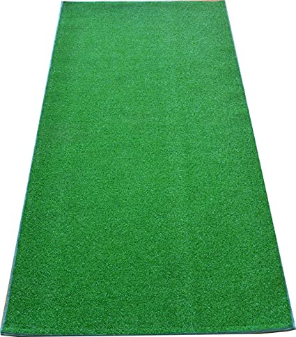 Amazon.com: Dean Premium Heavy Duty Indoor/Outdoor Green Artificial ...