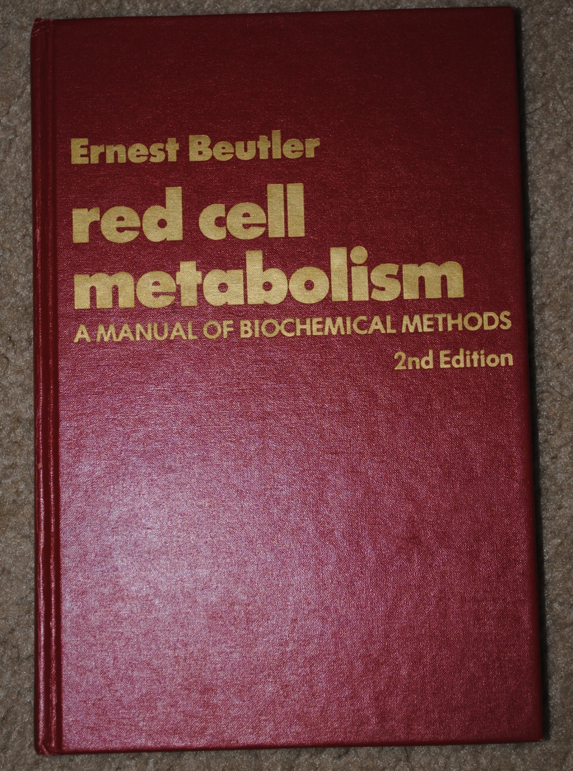 Biochemical Methods Book