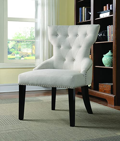 Coaster Home Furnishings 902238 Casual Accent Chair  Espresso Cream. Amazon com  Coaster Home Furnishings 902238 Casual Accent Chair