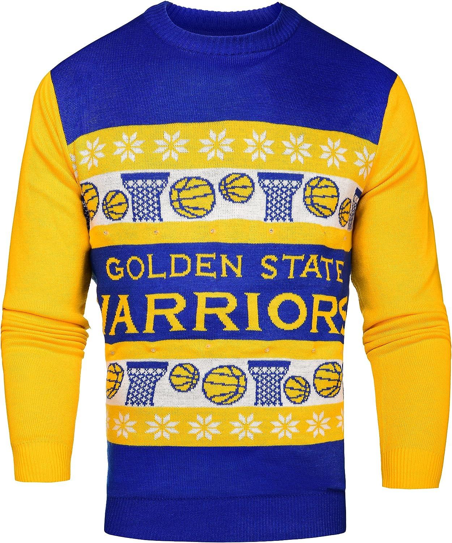 Amazon.com : FOCO NBA Light Up Ugly Sweater : Clothing