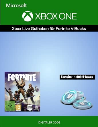 Xbox Live Guthaben Fur Fortnite Fortnite 1 000 V Bucks Amazon