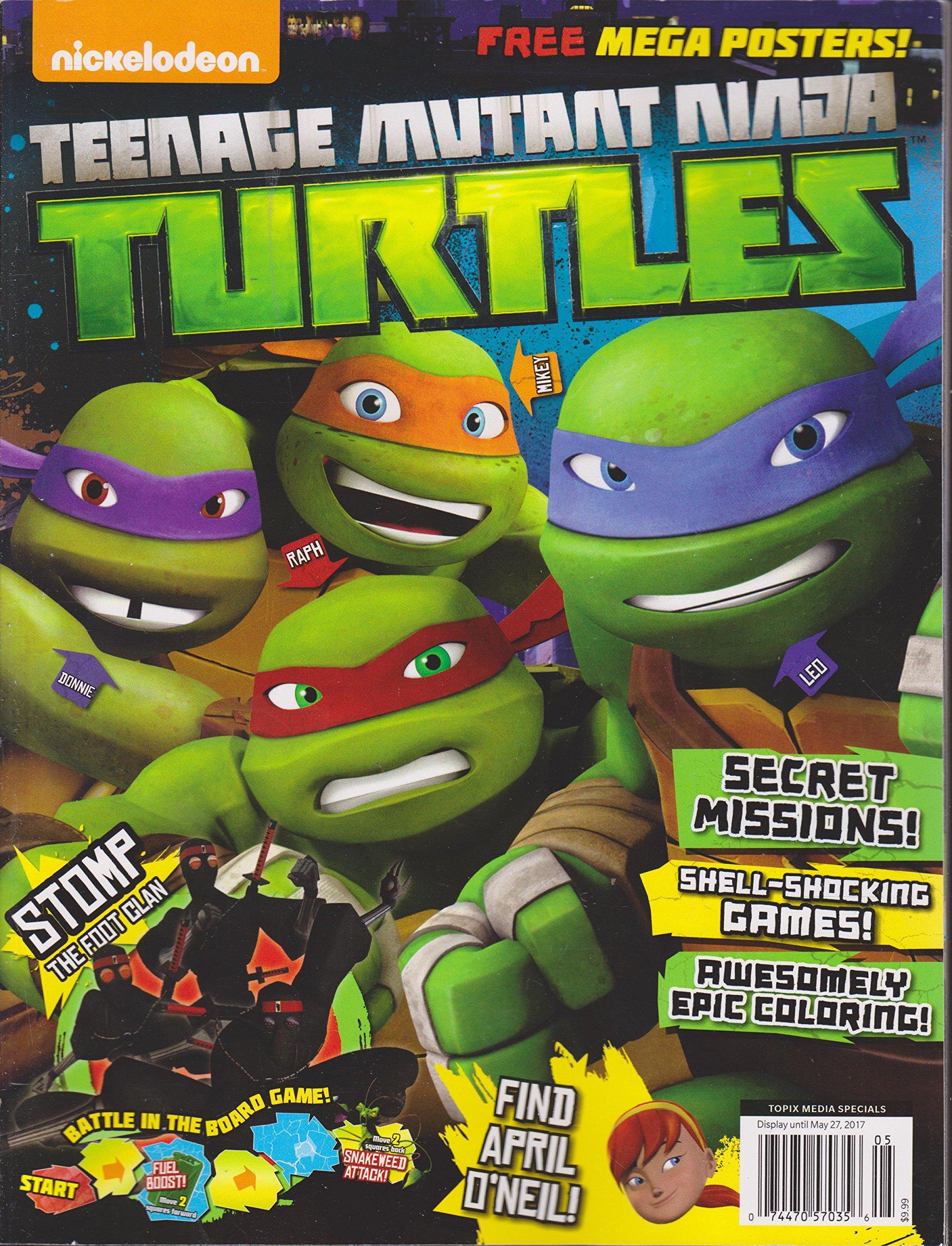 Nickelodeon Teenage Mutant Ninja Turtles Magazine 2017 ...