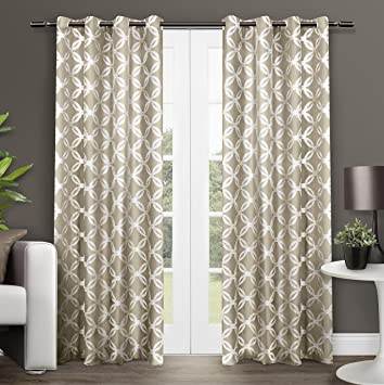 Curtains Ideas 54 curtain panels : Amazon.com: Exclusive Home Modo Grommet Top Window Curtain Panels ...