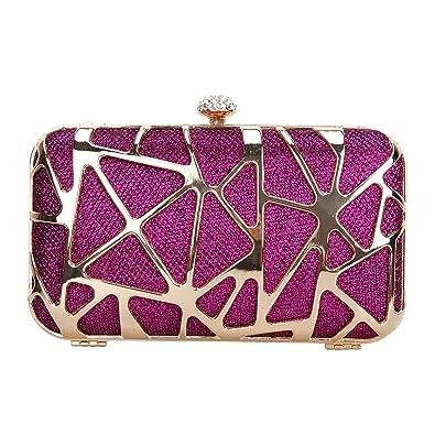 Fawziya Water Cube Mini Glitter Box Purse Fashion Clutch Bags For Women  Evening Bags-Purple 9c7e2d816fc1