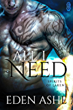 All I Need (Spirits of Laken #1)