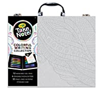 Deals on Crayola Take Note, Colorful Writing Art Case